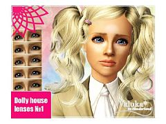 Sims 3 contact, lenses, eyes