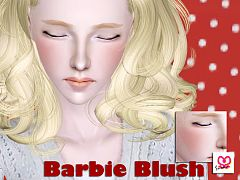 Sims 3 blush, makeup, foundation