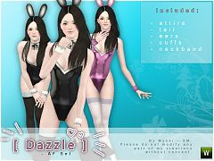 Sims 3 ears, accessories, female