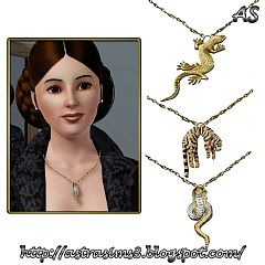 Sims 3 jewelry, accessories, necklace