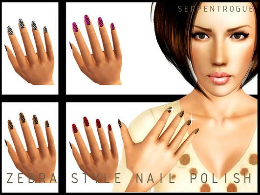 Sims 3 Updates S Fashion Accessories Nails Page 2