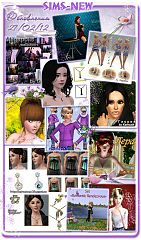 Sims 3 clothes, accessories, poses, models, sims