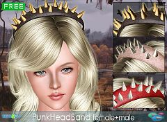 Sims 3 headband, accessries, female