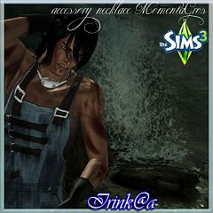Sims 3 jewelry, accessories, necklace, male