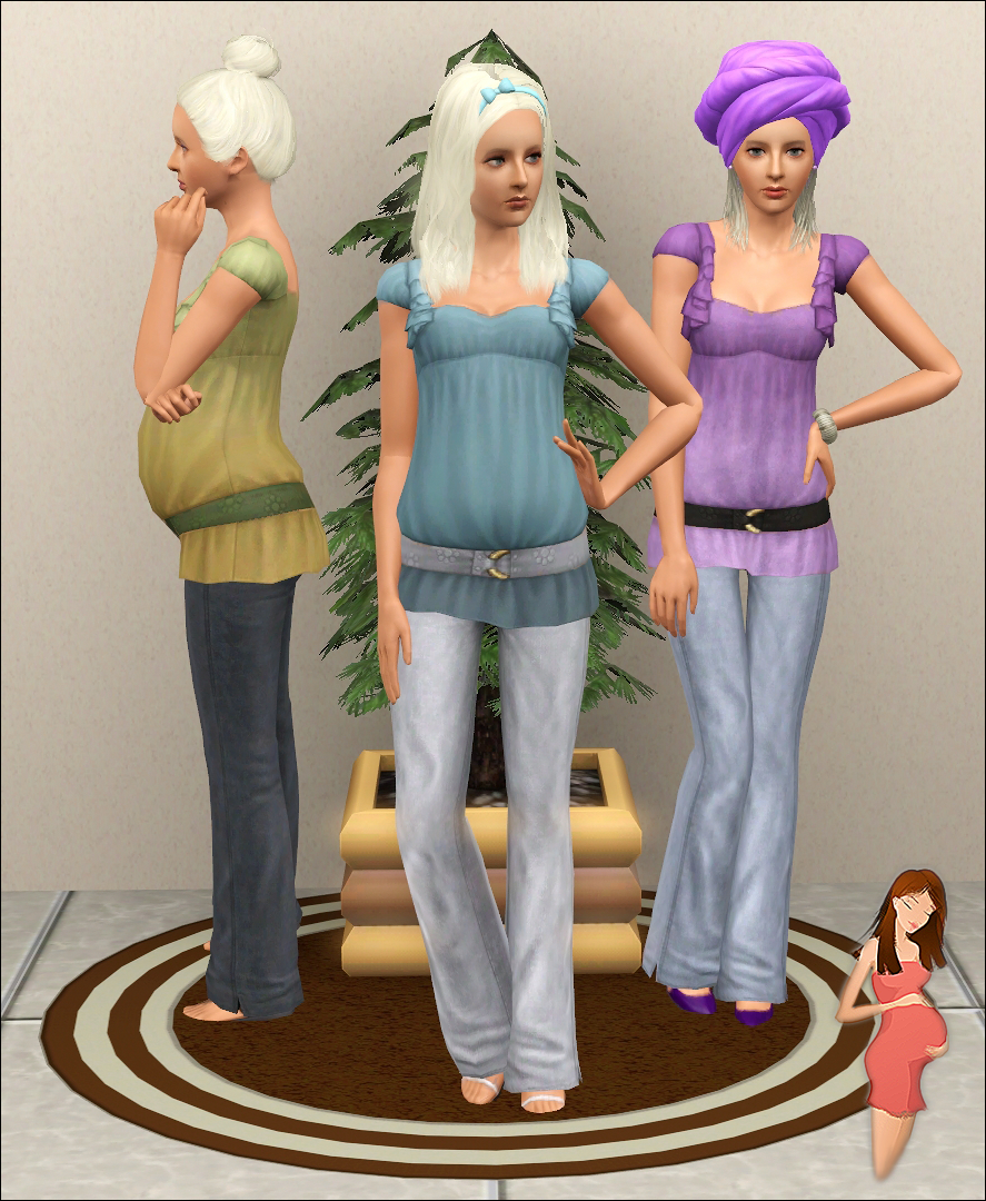 the sims 3 maternity clothes download