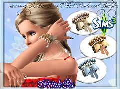 Sims 3 bangles, accessories, female