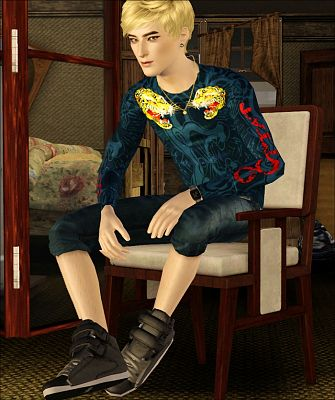 Sims 3 sneakers, sport, shoes, male