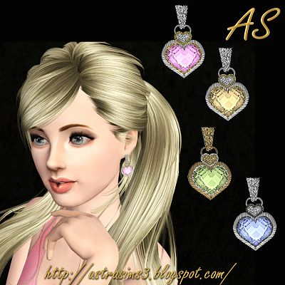 Sims 3 earrings, jewelry, accessory