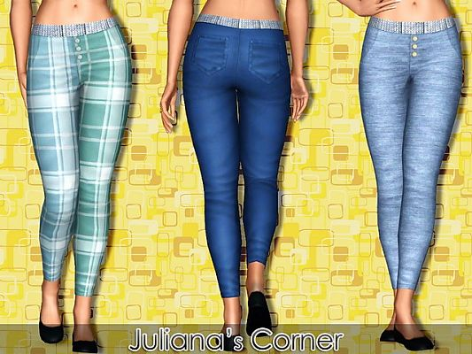 Sims 3 Updates - Juliana Sims : Catrina Set by Juliana!