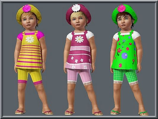 Sims 3 clothing, fashion, outfit, female, girls