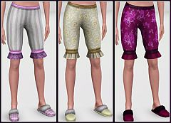 Sims 3 bloomers, vintage, pants, shorts