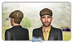 Sims 3 cap, hat, accessories, male