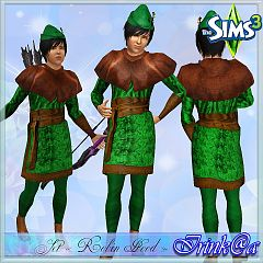 Sims 3 clothing, male, hat