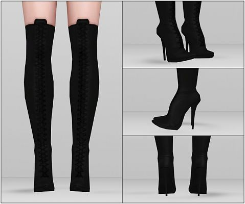 Sims 3 boots, shoes, Kate Perry