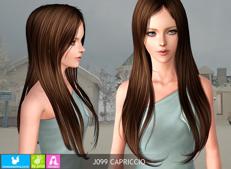 Sims 3 Long Hair