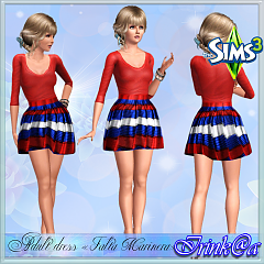 Sims 3 dress, fashion, clothing, outfit, female