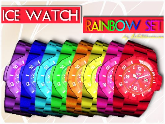 Sims 3 accessory, watches, female, male