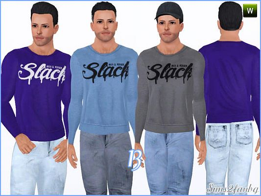Sims 3 clothing, outfit, male, jeans