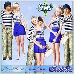 Sims 3 dress, fashion, clothing, female, accessories, male