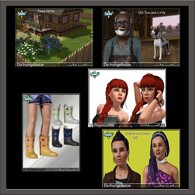 Sims 3 sims, female, residential, lot