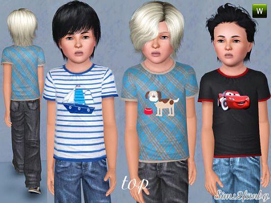 Sims 3 set, cloth, clothes, fashion, child