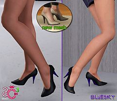 Sims 3 shoes, heels, stiletto, sims