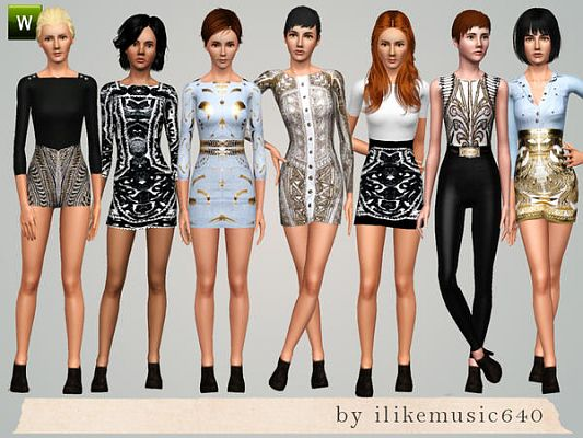 The sims 3 fashion