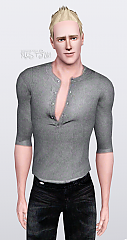 Sims 3 shirt, blouse, top, male, clothing