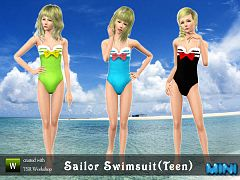 Sims 3 swim, swimwear, fashion, clothing, female