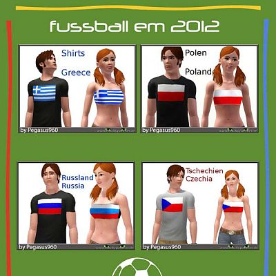 Sims 3 top, clothing, clothes, fashion, soccer