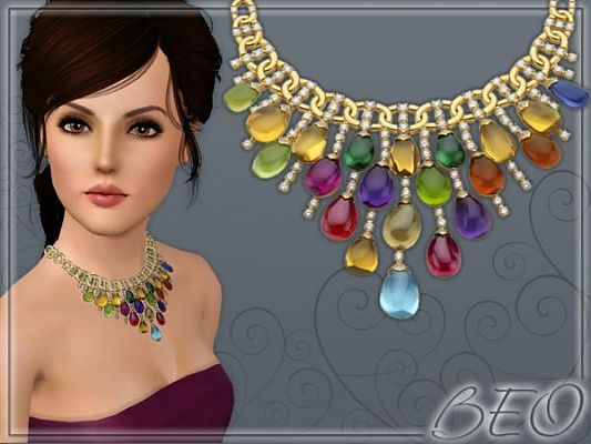 Sims 3 necklace, jewelry, sims3