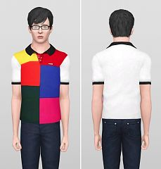 Sims 3 top, clothing, clothes, fashion,males