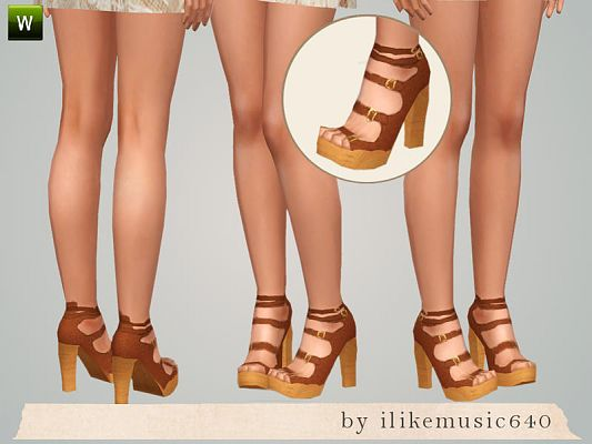 Sims 3 Updates - Downloads / Fashion / Shoes / Teen - page 1