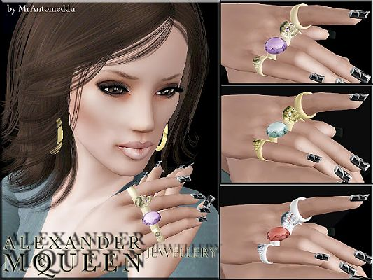 Sims 3 rings, accessory, jewelry