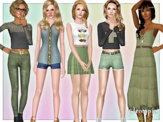 Sims 3 Hipster Clothes Sims 3 Top Clothing Clothes