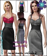 Sims 3 fashion, women clothing, clothes, sims