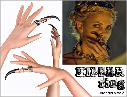 Sims 3 ring, killer, magic, accessory
