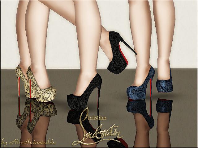Скачать моды на симс 3 на обувь