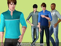 Sims 3  shirts, males, clothes
