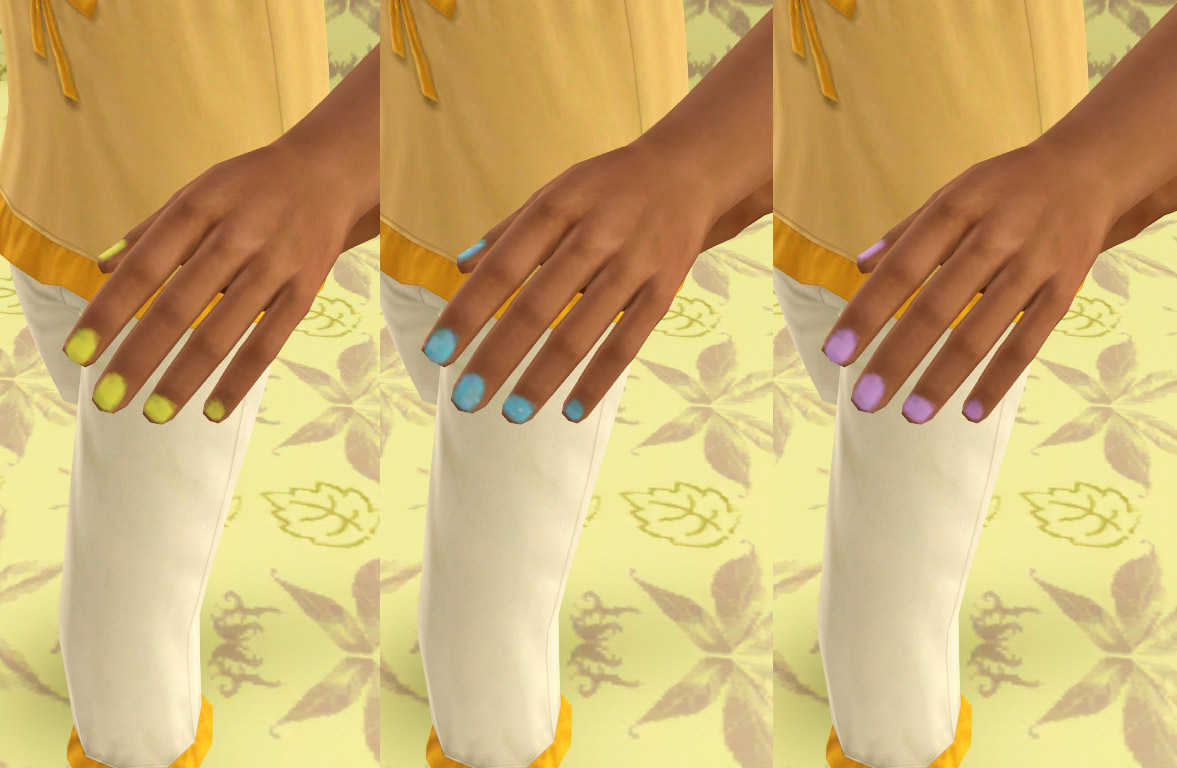 Sims 3 Updates - Downloads / Fashion / Accessories / Nails - page 2