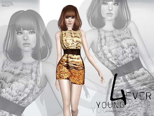 EVER YOUNG. Fashionable womens clothing collection/2012 by orange-sim