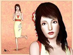 Sims 3 sim, sims, model, sims3, female, house