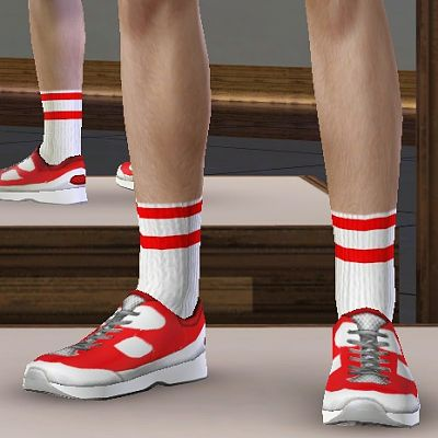 Sims 3 socks, accessories, males