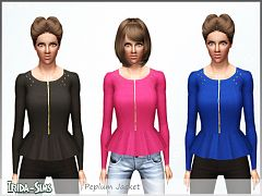 Sims 3 top, jacket, clothes, fashion