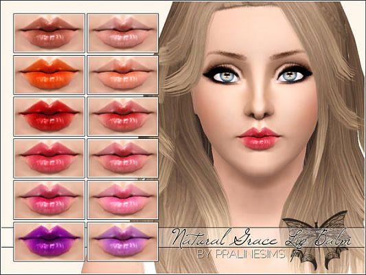 Sims 3 lip, lipstick, makeup, glosss, balm