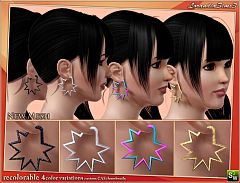 Sims 3 earrings, jewelry, accessories