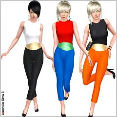 Sims 3 outfit, belt, clothes, fashion
