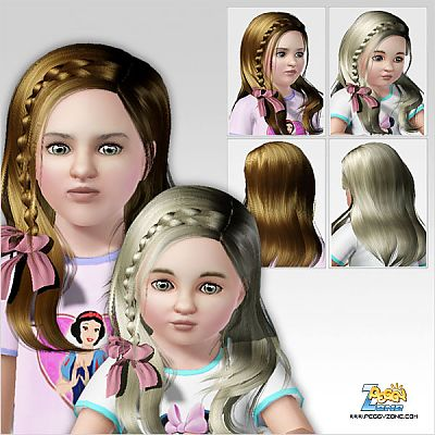 sims 3 toddler hair images galleries with a bite. Black Bedroom Furniture Sets. Home Design Ideas