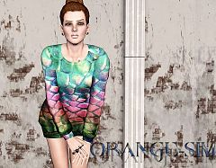 Sims 3 sweater, clothes, females