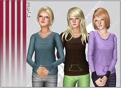 Sims 3 top, shirt, fashion, clothes